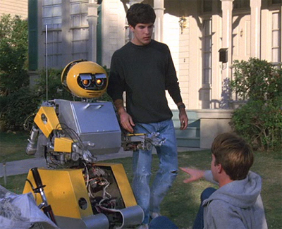 deadly friend robot