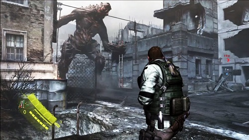 RE 6 big monster