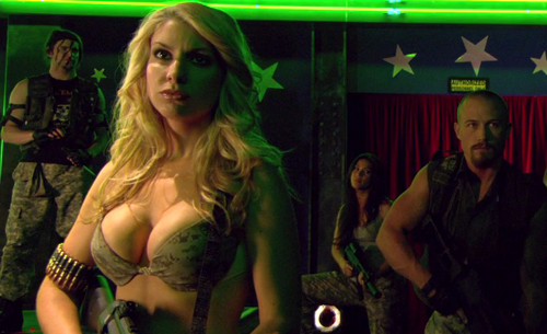 zombies vs strippers soldiers