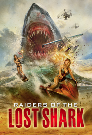 raiders of lost shark cover