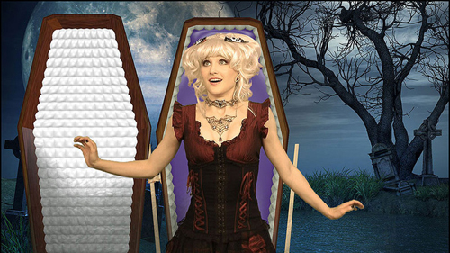 creeporia coffin