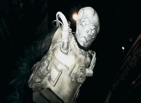 bunker of dead alien