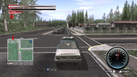 deadly premonition car