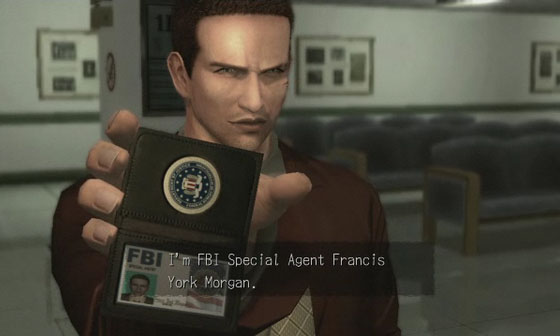 deadly premonition main character