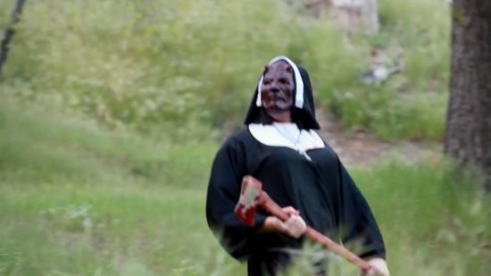 bloodybloodybiblecamp nun