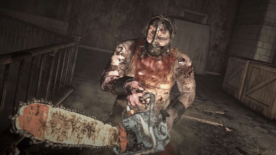 evil within chainsaw