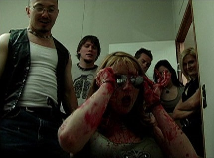 gimme skelter cast blood