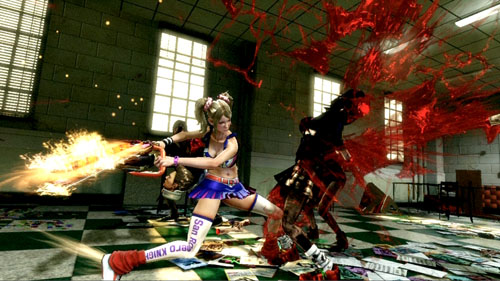 lollipop chainsaw gore