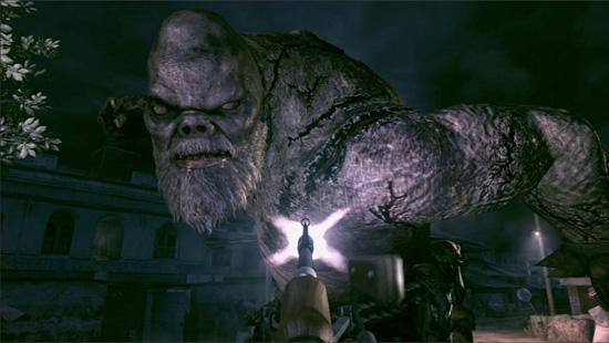 resident evil 5 giant boss