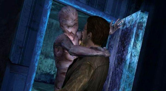 silent hill shattered memories attack