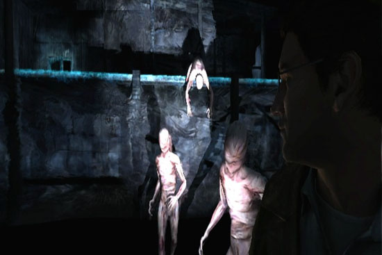 silent hill shattered memories creatures