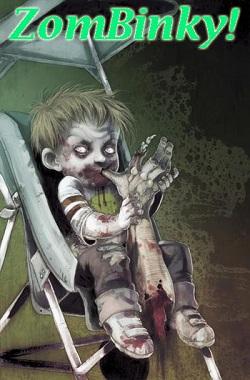 baby zombie zombinky