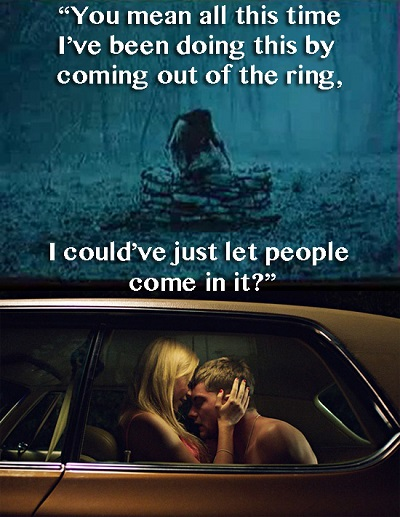 it follows ring humor