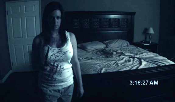 Paranormal Activity—Still not scarier than The Exorcist ... Katie Featherston Demon Face